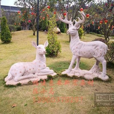 供应石雕梅花鹿