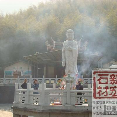 龙岩永安寺佛像雕塑及栏杆