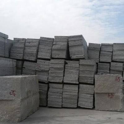 湖北麻城芝麻白光面石材厂家