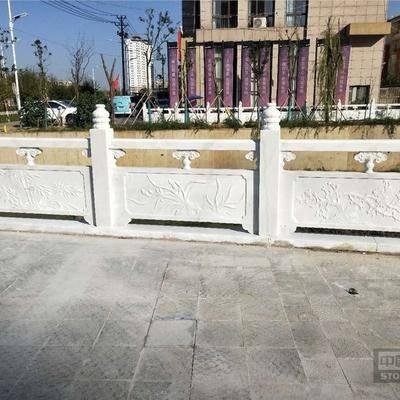 广西汉白玉桥栏杆