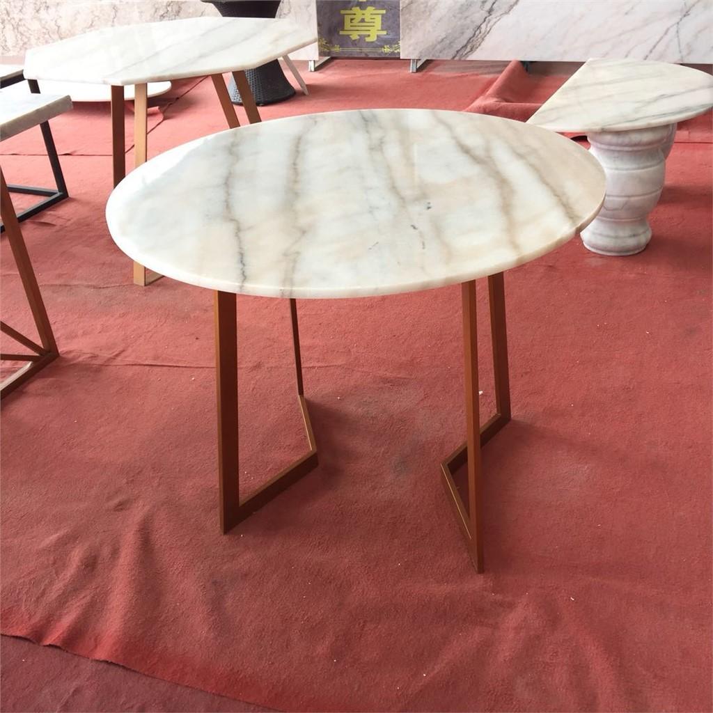 广西玉质天然大理石桌