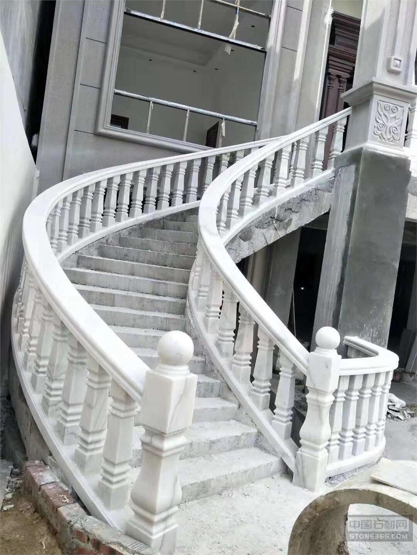 庭院大理石栏板扶手