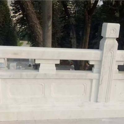 广西白汉白玉石桥栏杆