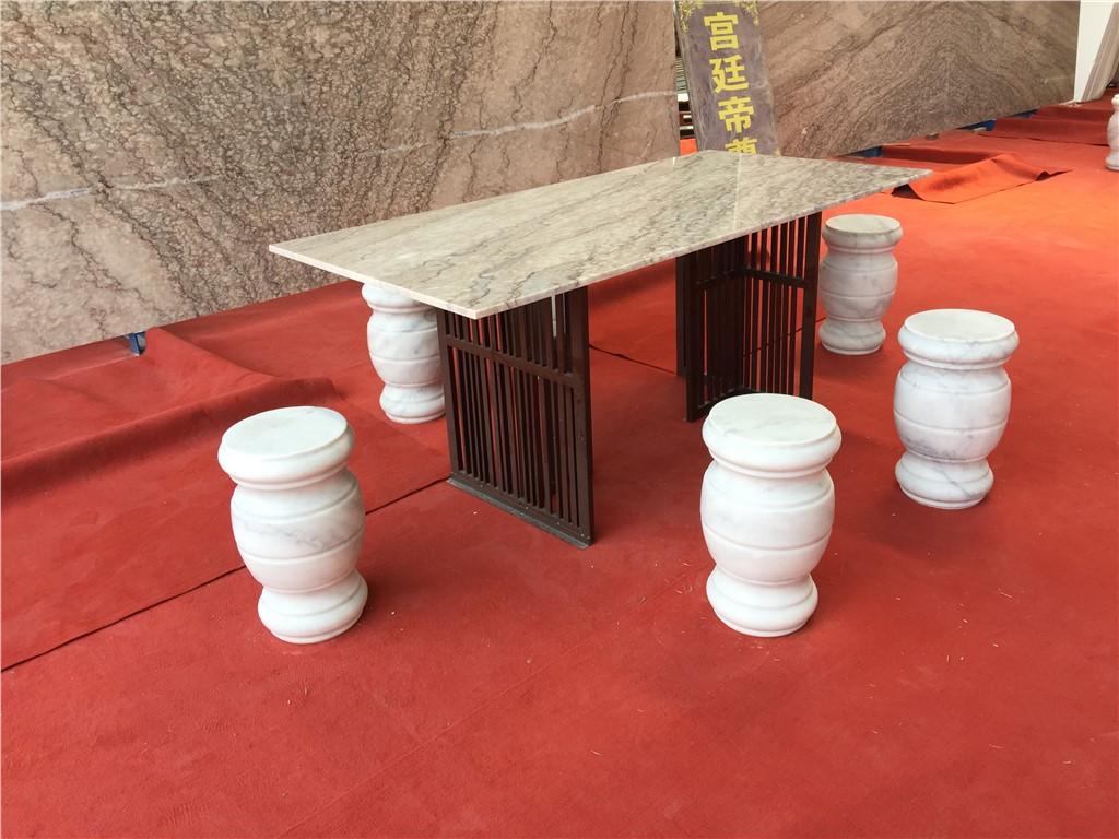 天然大理石家庭桌具定制