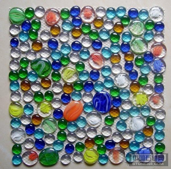 供应透明彩珠石网贴 扁珠网贴