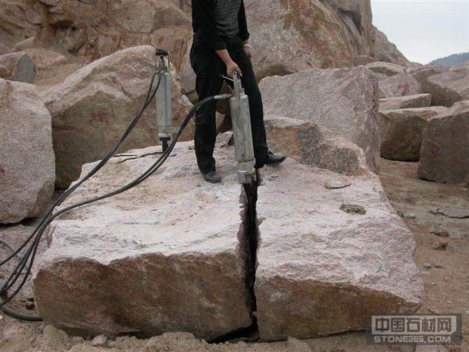 供应大块石材分解工具