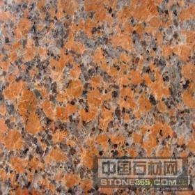 广西枫叶红花岗岩光面石材