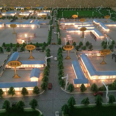 企业立体建筑模型