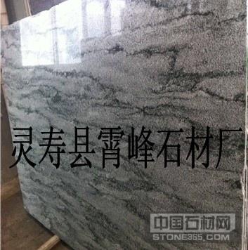 供应幻彩绿木纹石