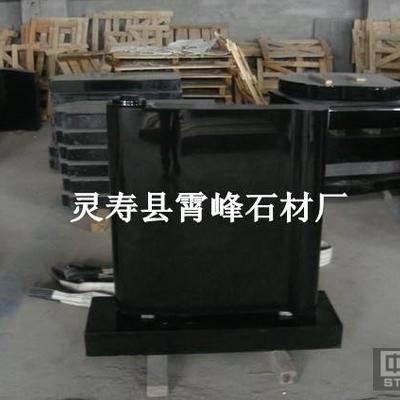 中国黑组合墓碑 河北黑公墓墓碑