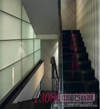中国黑楼梯踏步板
