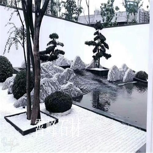 厂家直销大型雪浪石 泰山石
