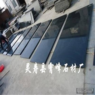 供应中国黑石材河北黑2号花岗岩