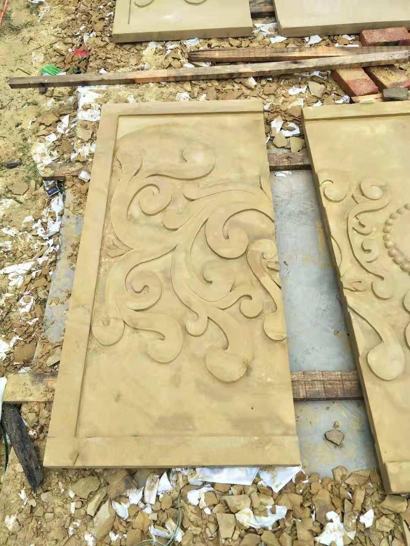黄砂岩浮雕板