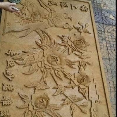 四川黄金砂岩雕刻