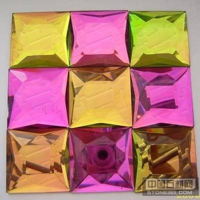 供应水晶装潢片马赛克贴片