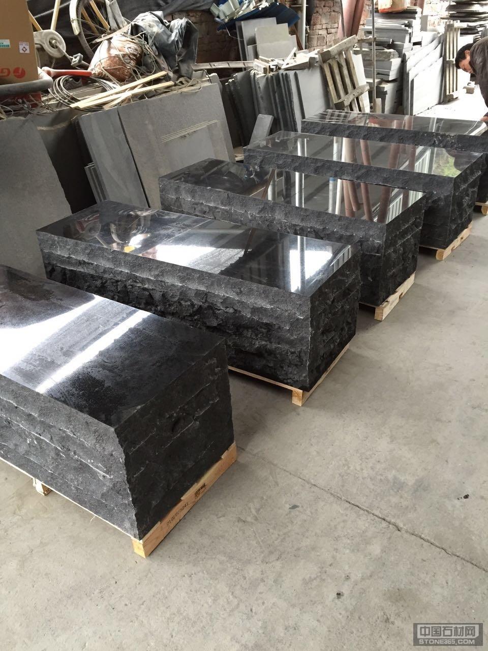 福鼎黑石材大板台面板