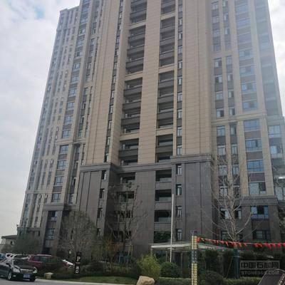 兴县红石材干挂案例