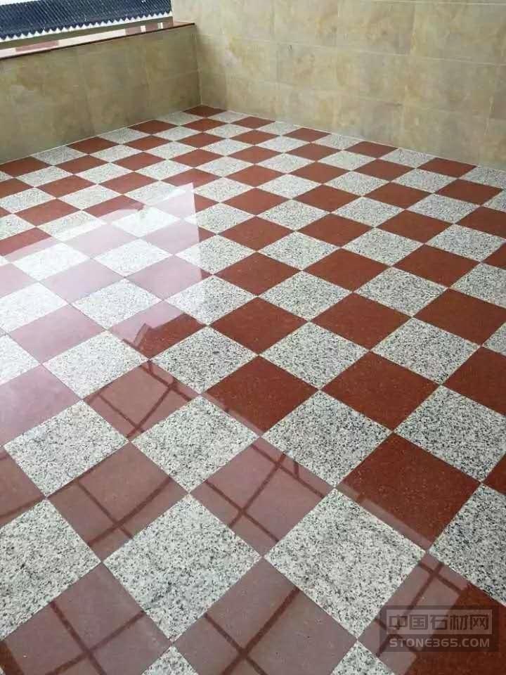 中国红石材室内装饰案例