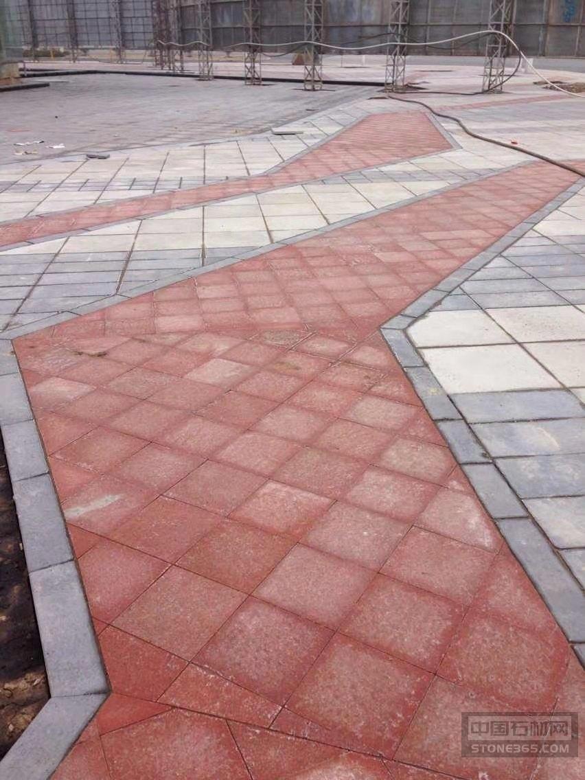 中国红室外装饰工程案例