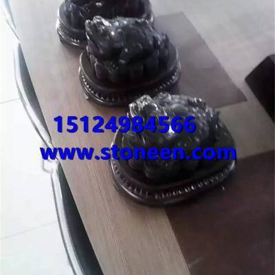 供应蒙古黑石雕
