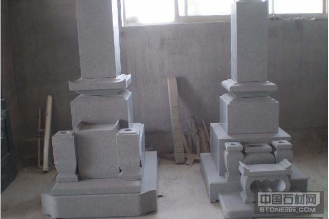 白砂岩墓碑