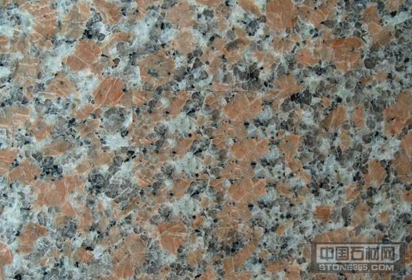 广西海棠红花岗岩石材