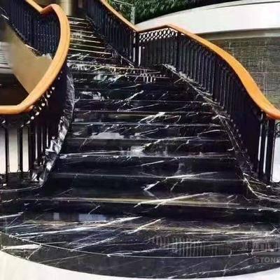黑白根大理石楼梯案例
