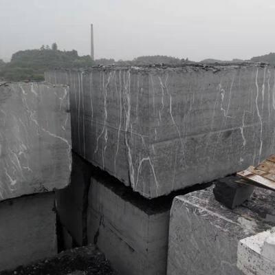 盛达石材黑白根大理石荒料
