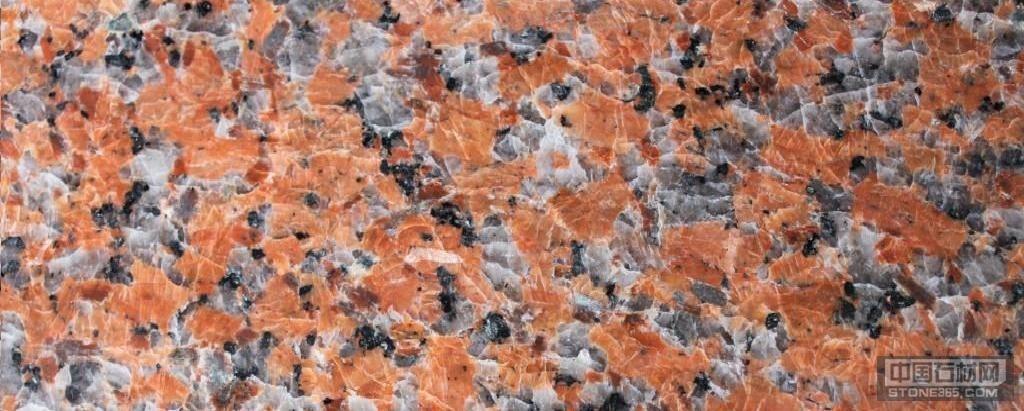 供应花岗岩三堡红枫叶红板材