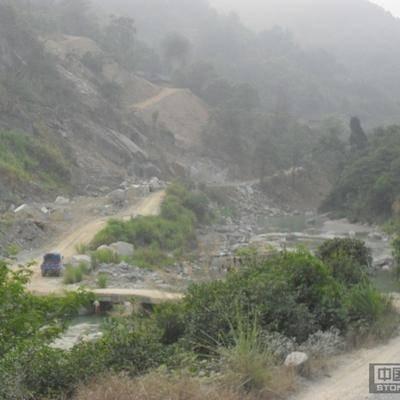 广西辉绿岩矿山