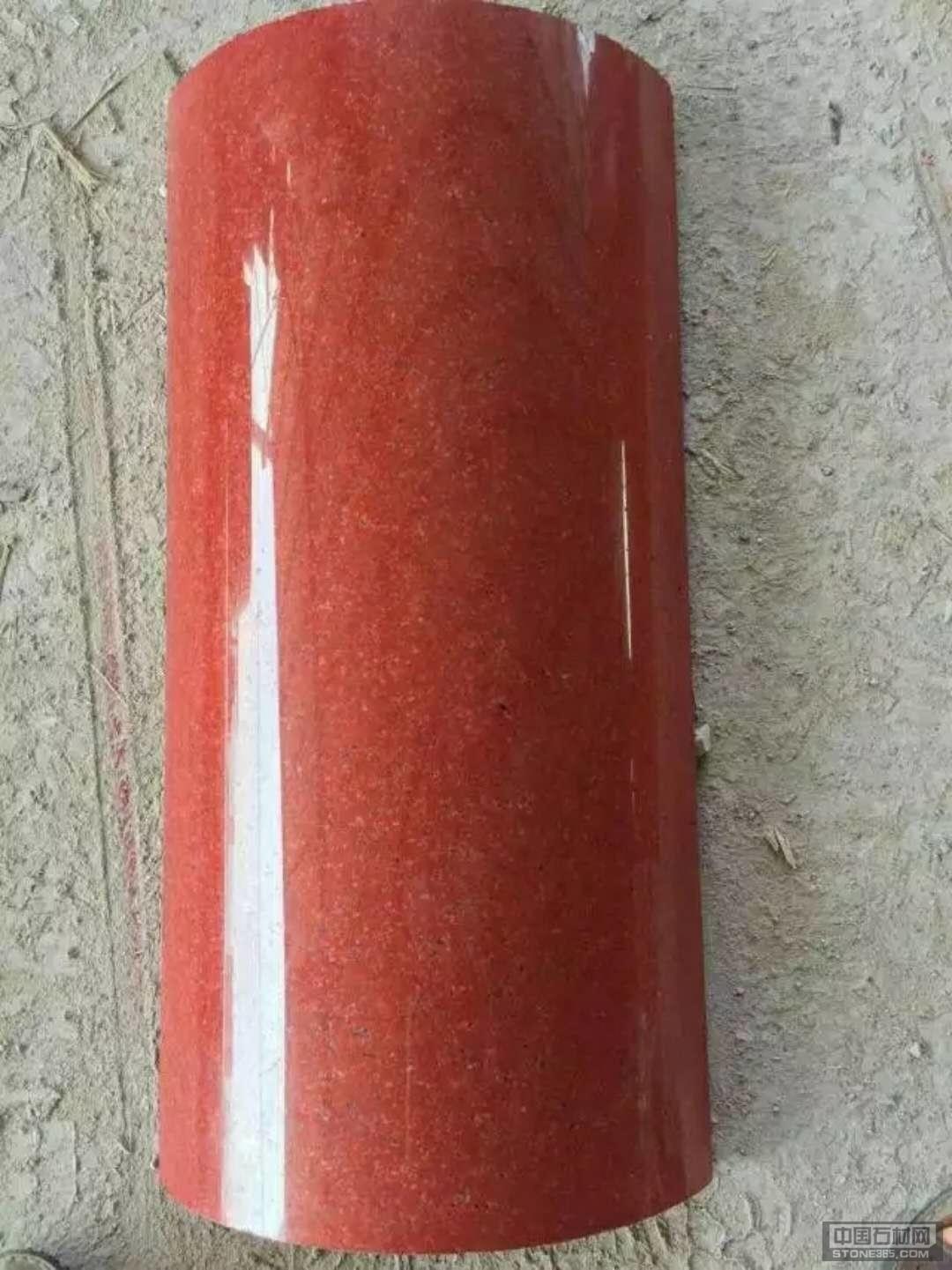 四川红石材弧形板