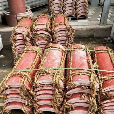 中國紅弧形板