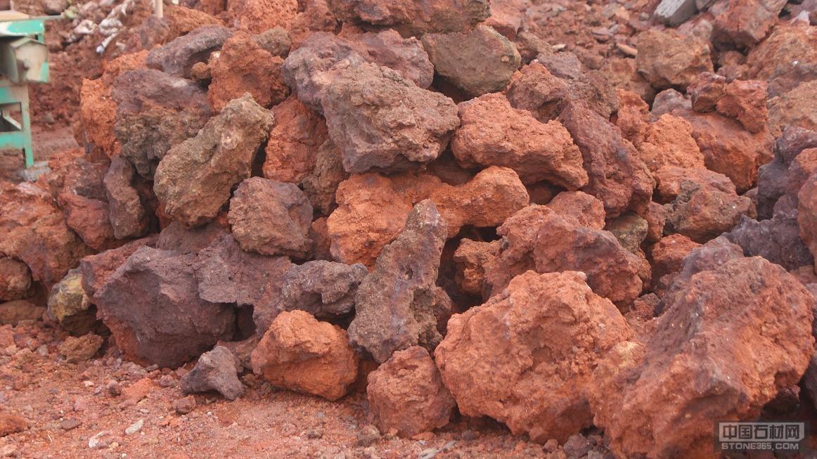 红色火山岩3