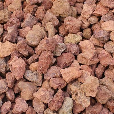 红色火山岩1