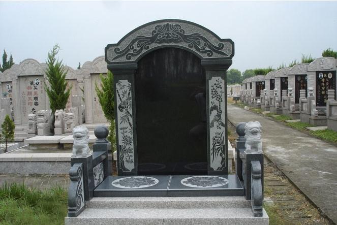 沂蒙黑成品墓碑公墓