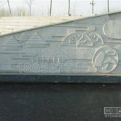 石雕人物壁画  3