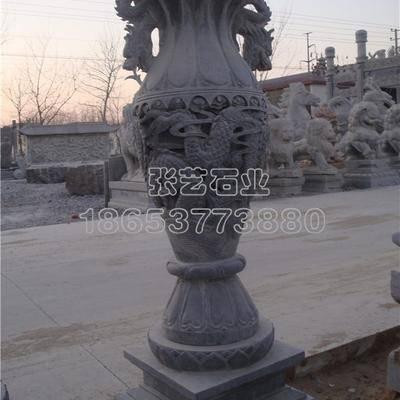 石雕花瓶  2