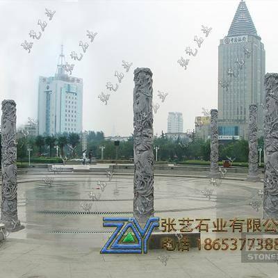 石龙柱 文化柱