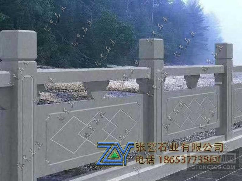 青石石栏杆 简易河道石栏杆
