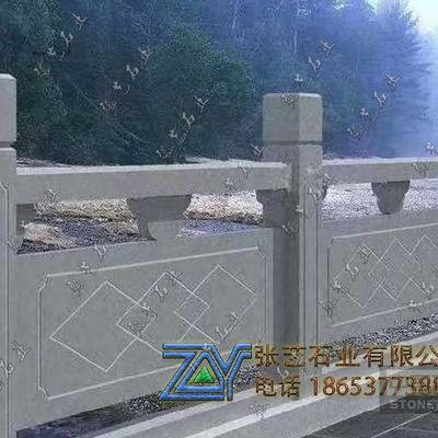 青石石栏杆|简易河道石栏杆