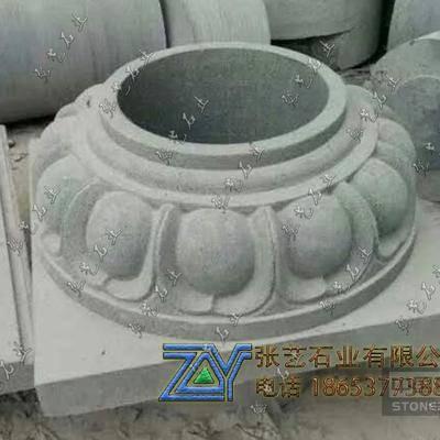 青石精品包柱石