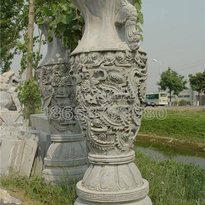石雕花瓶  3