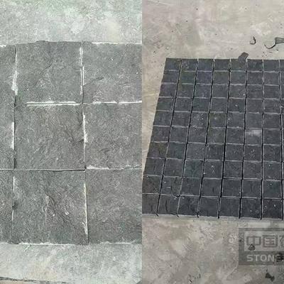 宜宾黑自然面马蹄石