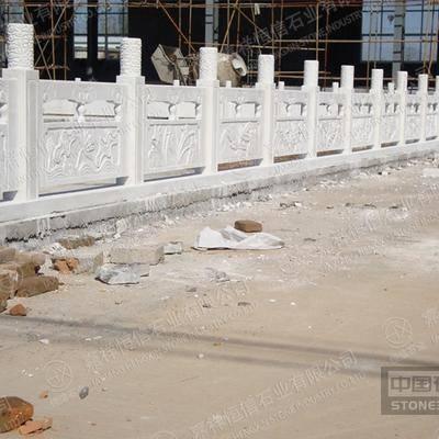 汉白玉桥梁栏杆 小桥汉白玉栏杆