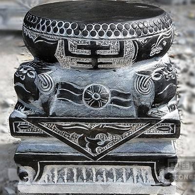 石柱墩 柱顶石 柱子石