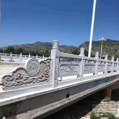 恒信 桥头石栏杆定制 石护栏