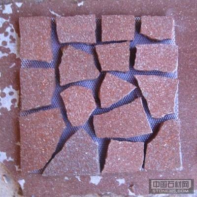 福寿红粘网小方块
