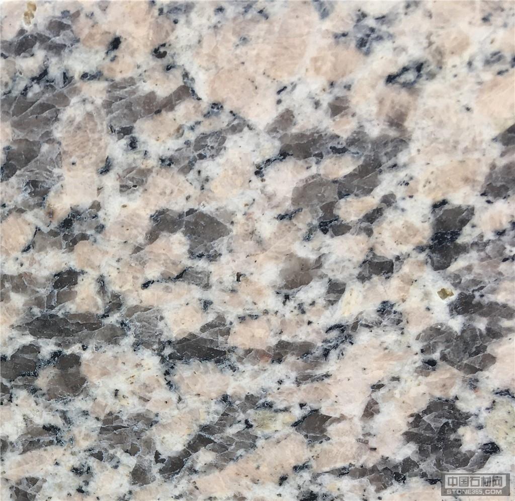 供应湖北粉红麻花岗岩 光面石材