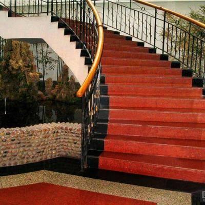 供应三合红花岗石川红石材红石材
